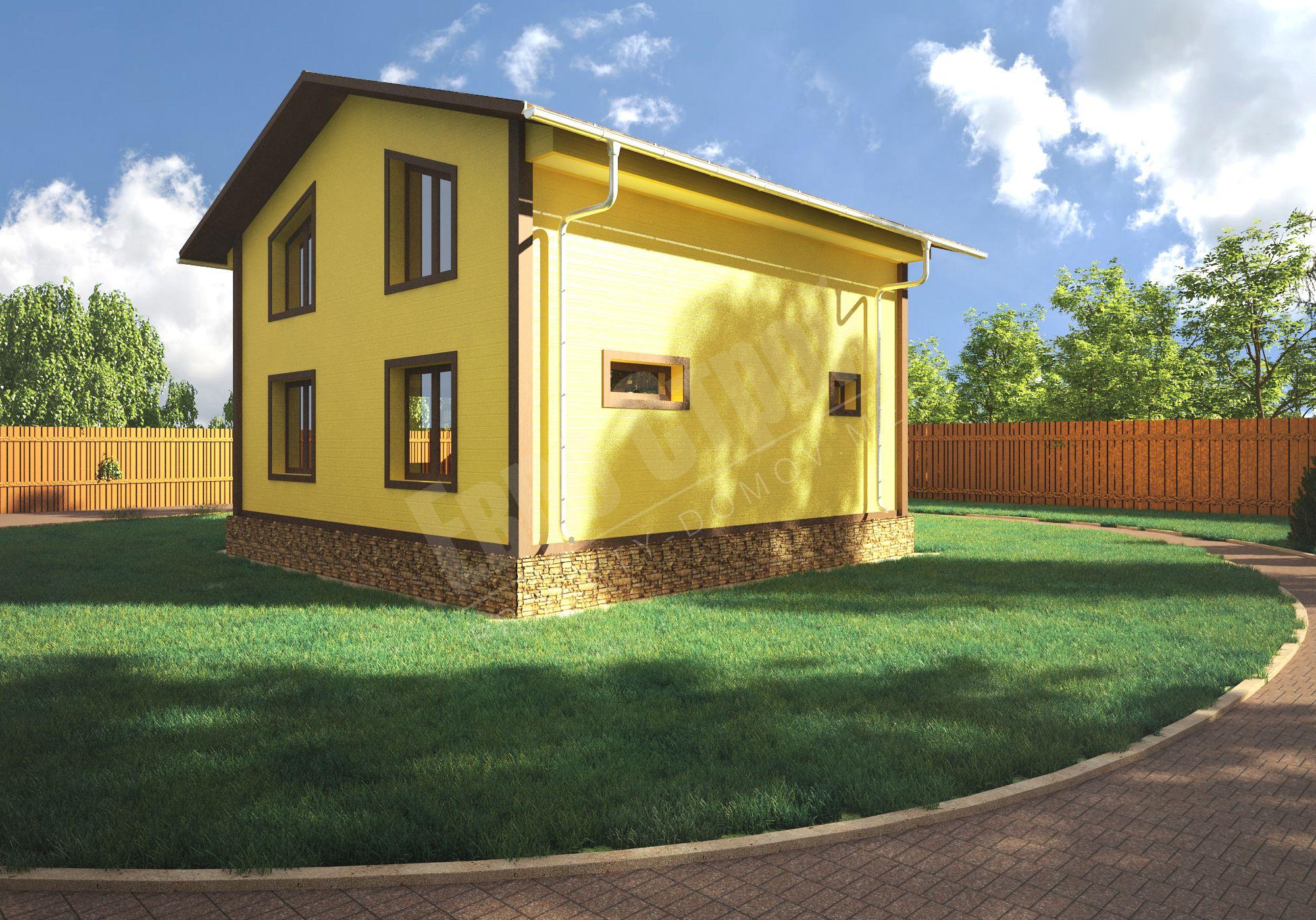 Пример как дешево построить дом своими руками (61 фото) 63