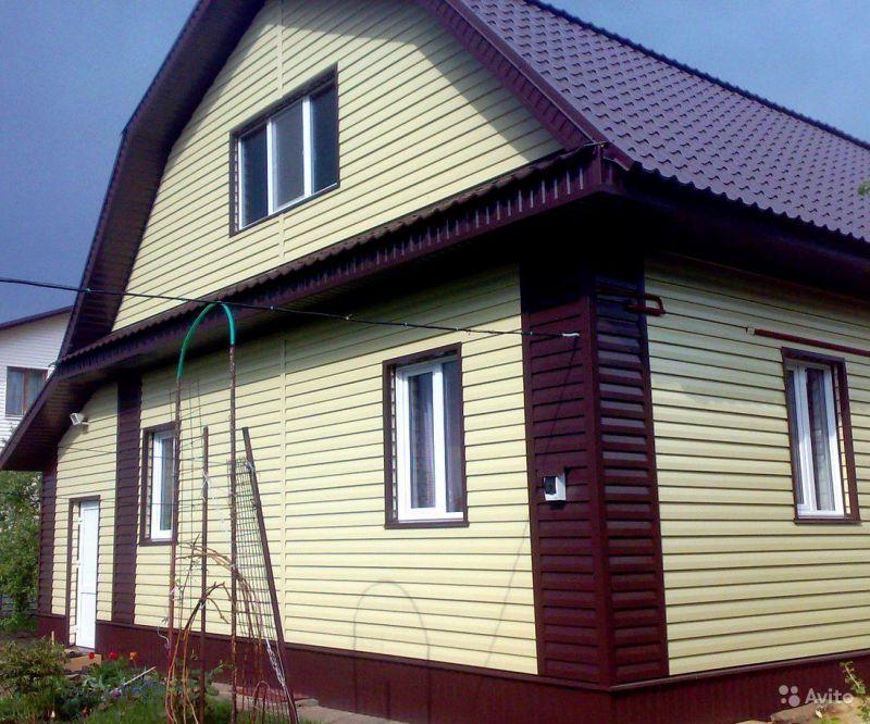 фото обшитых домов