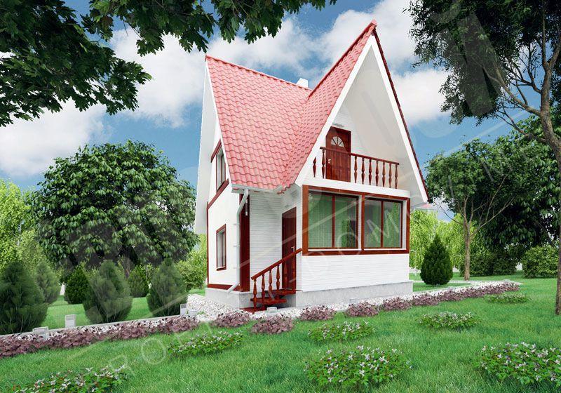 Красивые дачные дома фото