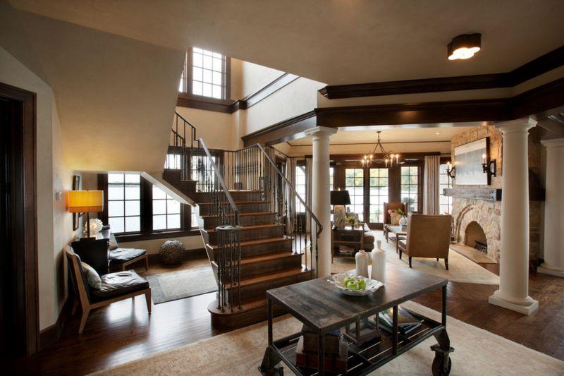 Фотографии домов в классическом английском стиле
