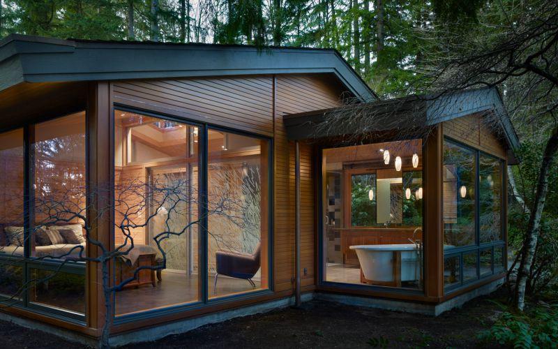 Фото интересных домов в лесу