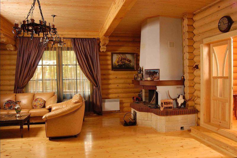 Фото готовых домов из блокхауса