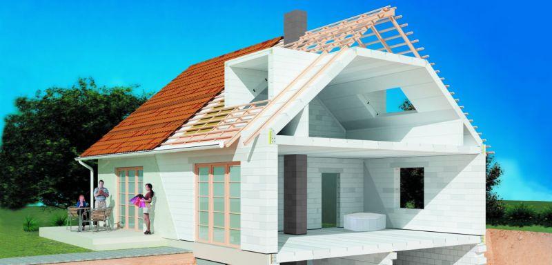 Как сделать дом из пеноблока