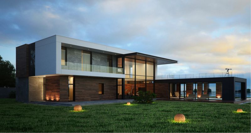 проекты hi tech домов