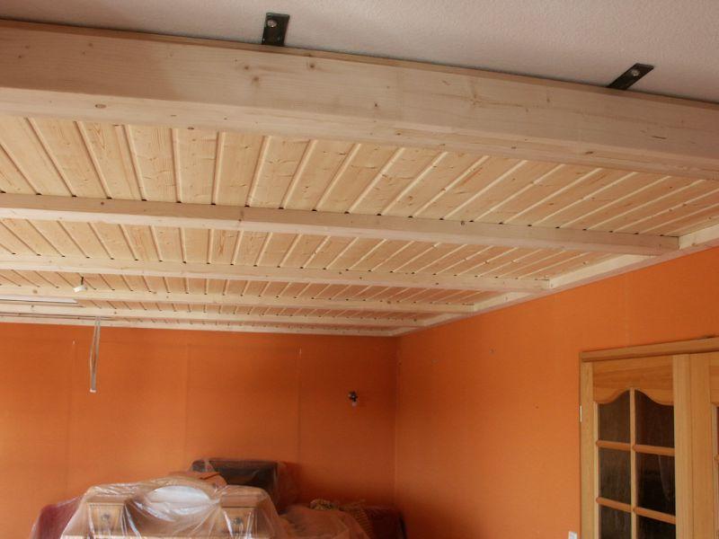 Подвесной потолок своими руками из вагонки