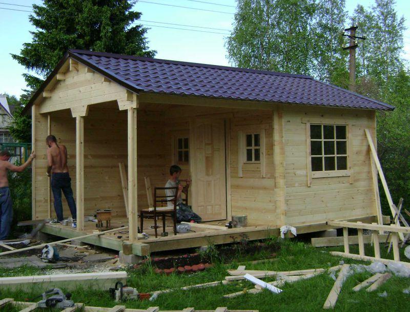 Строительство дачного домика недорого своими руками фото 786