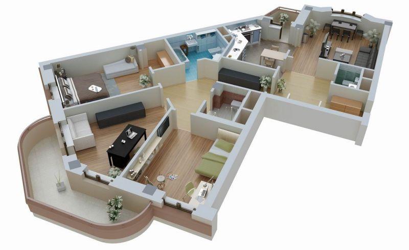 Готовые проекты дома 6 на 6 с фото и рекомендуемой планировкой