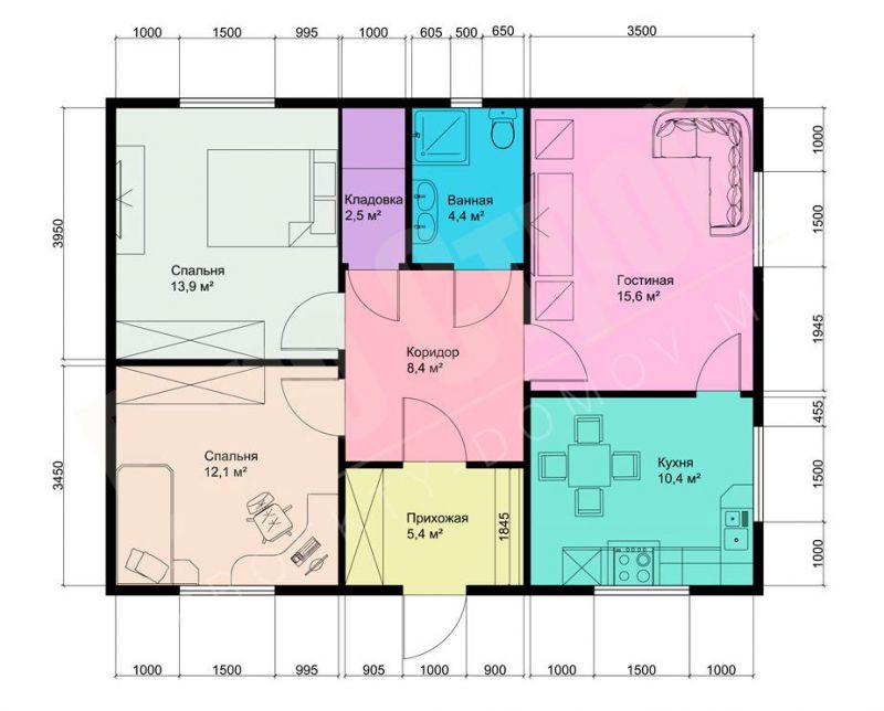Каталог фото красивых одноэтажных домов, их проекты