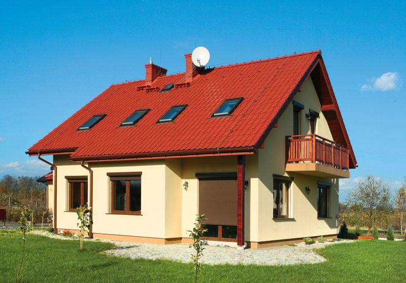 Фото крыши домов