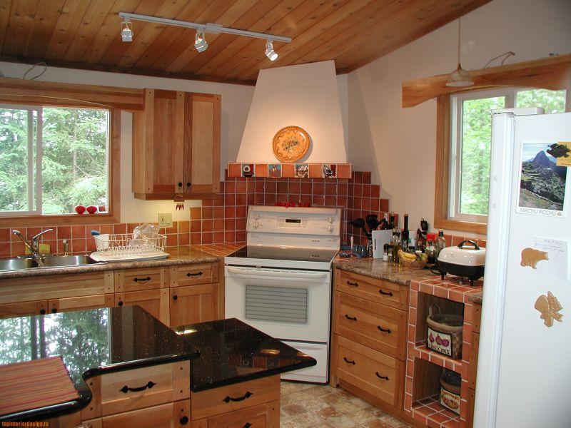 Дизайн маленькой кухни в частном доме своими руками фото