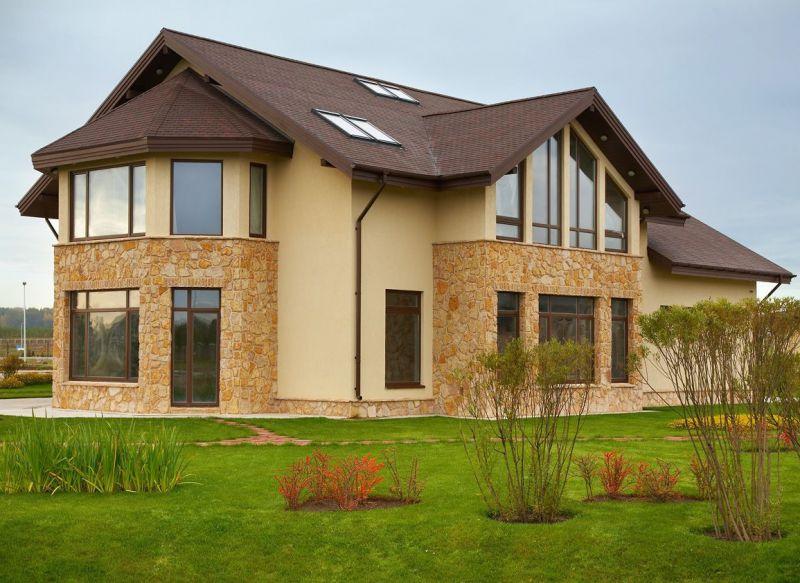 Фото каталог фасадов домов: функциональная отделка и декор
