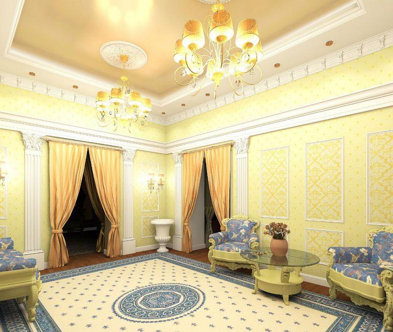 Варианты оформления коридора и холла в доме — фото-подборка
