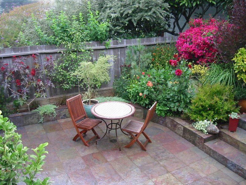 Как сделать уютным свой двор в доме