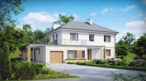Типы дачных домов каркасно-щитовой конструкции