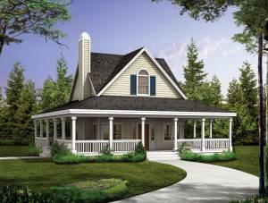Секрет низкой стоимости каркасно-щитовых домов «под ключ»