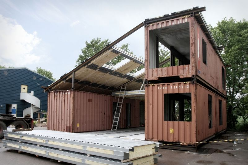 Как сделать дома из контейнеров: фото, проекты и идеи