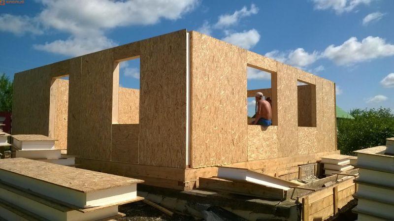 Фото дома из сип панелей приблизит вашу мечту на получение своего жилья