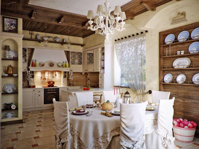 Фото дома в стиле кантри