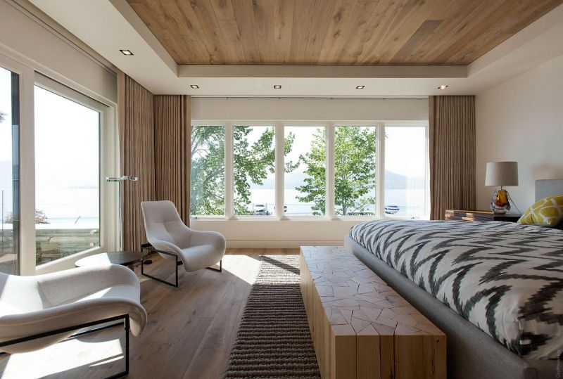 Фото дома с панорамными окнами