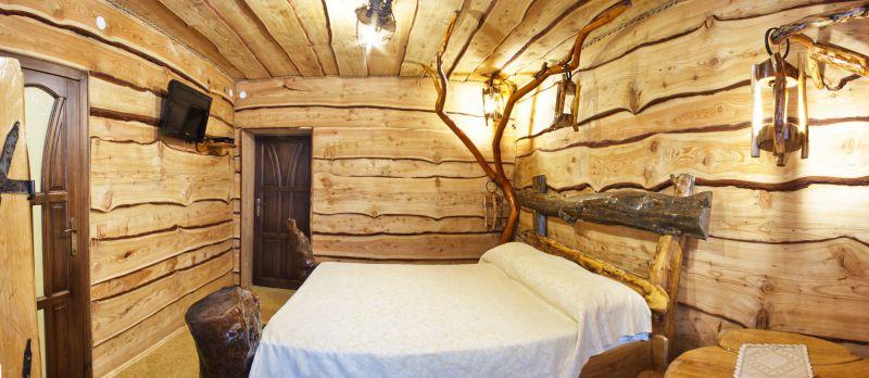 Фото потолков в деревянном доме