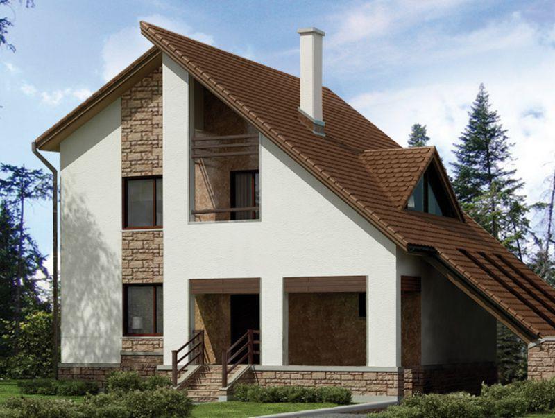Щитовые дома своими руками проекты и фото