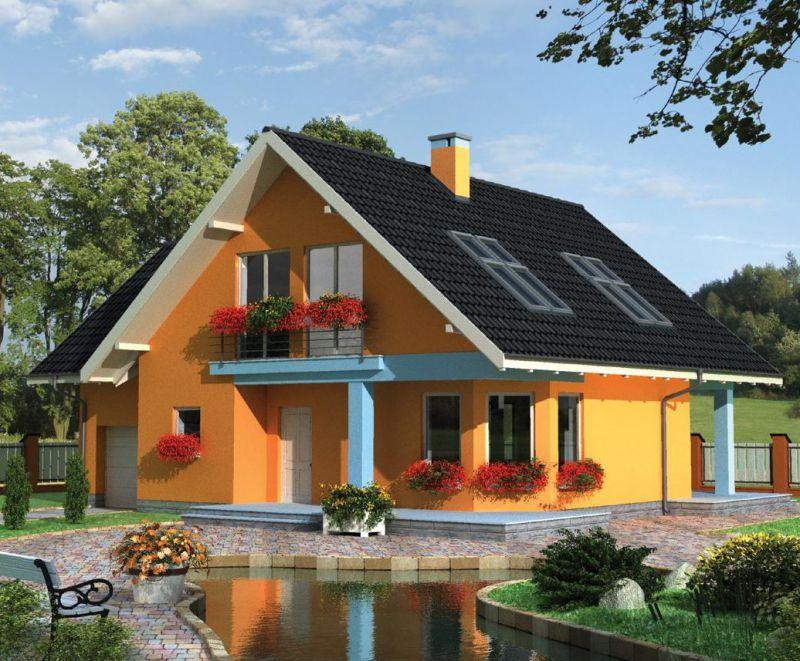 Красочные фото небольших домов
