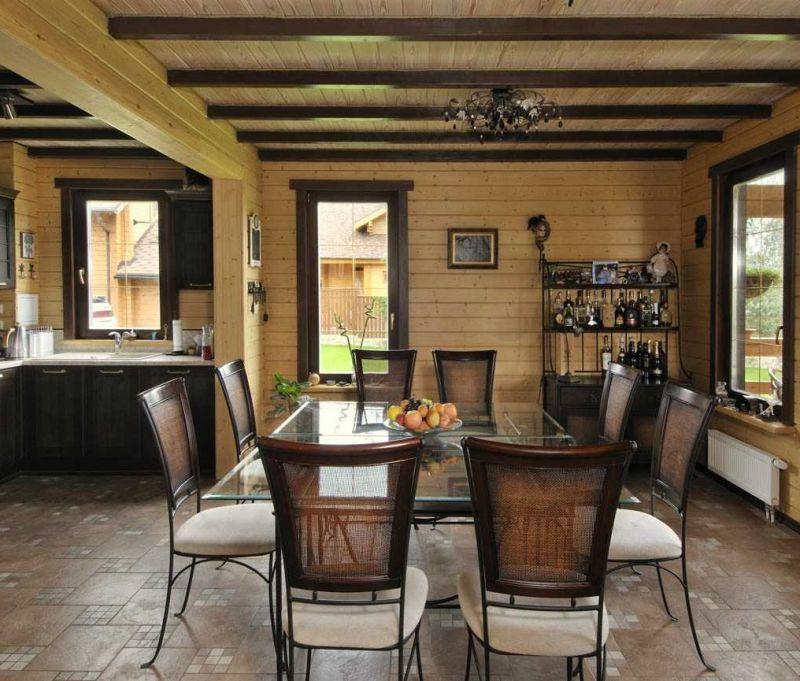 Лучшие фото внутренней и наружной отделки дома