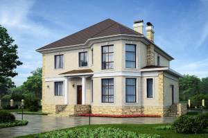 Преимущества двухэтажного проекта дачного дома 8 на 8